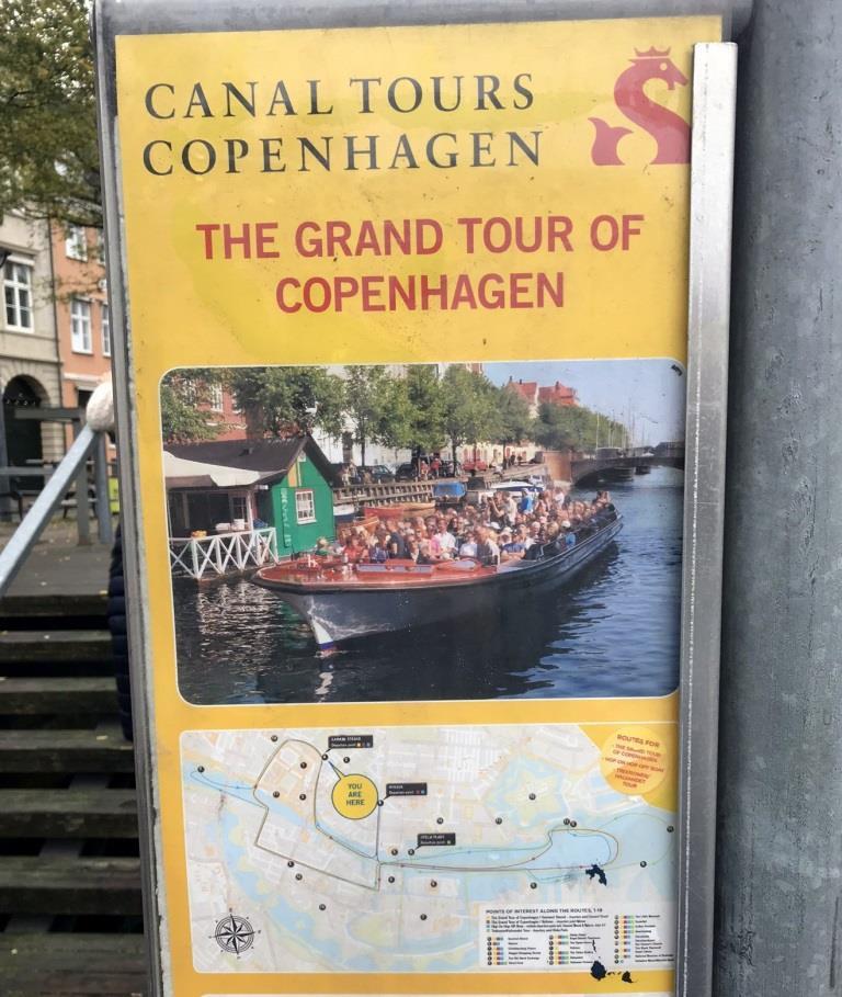 Что посмотреть в Копенгагене. Прогулка на катере