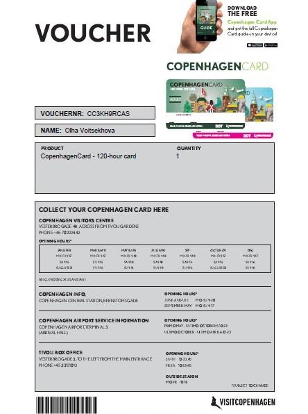 Copenhagen Card. Копенгаген Кард. Как купить