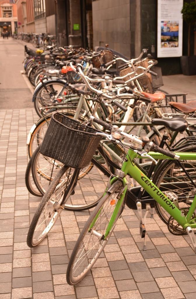 Копенгаген. Велосипеды