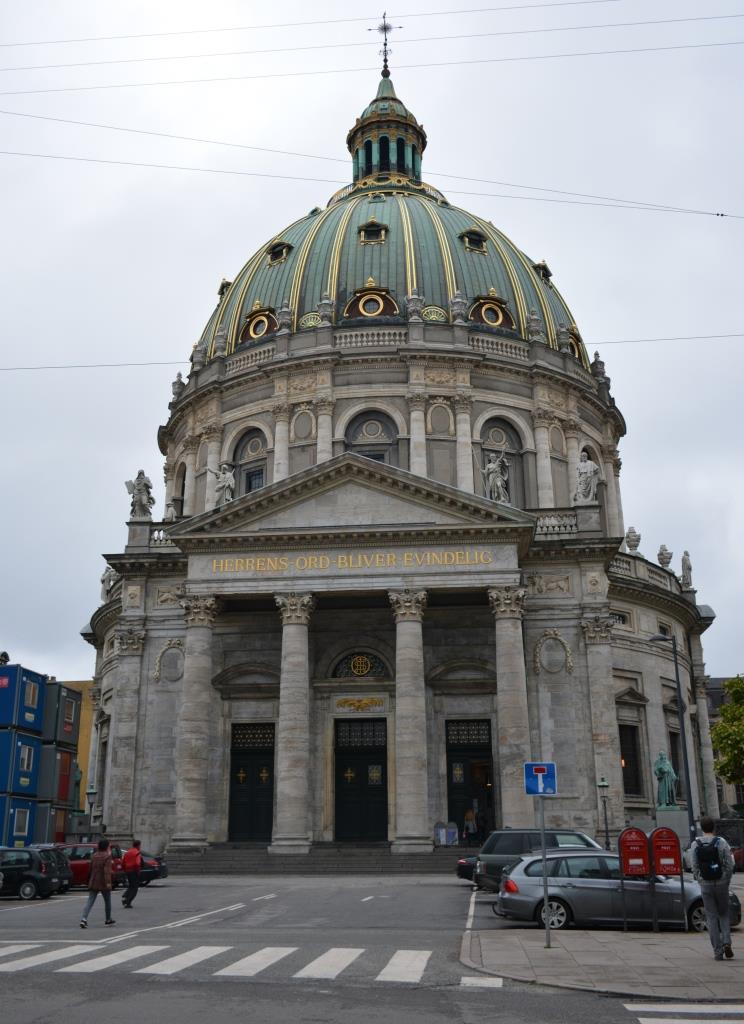 Что посмотреть в Копенгагене. Церковь Фредерика