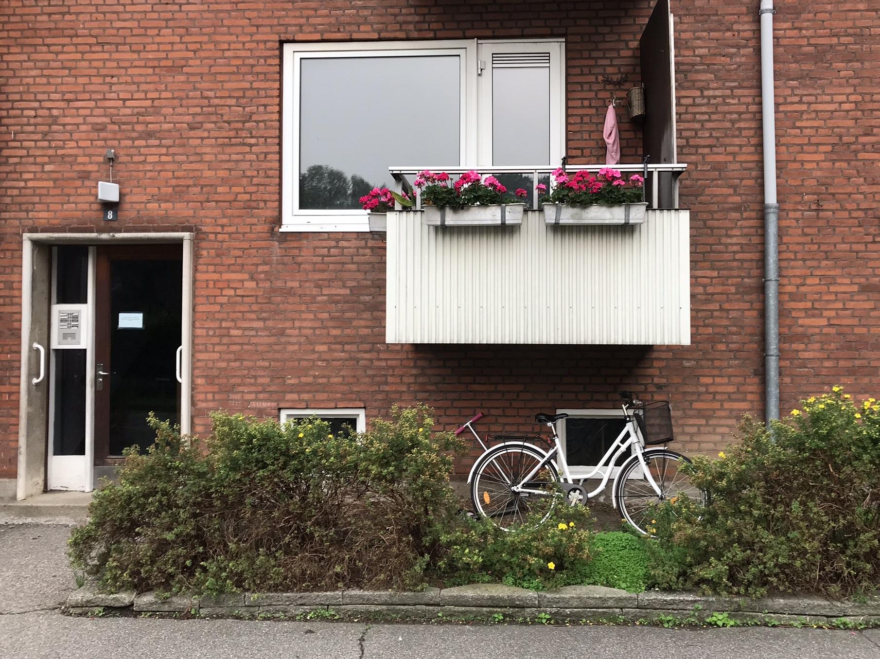 Копенгаген. Окна без штор