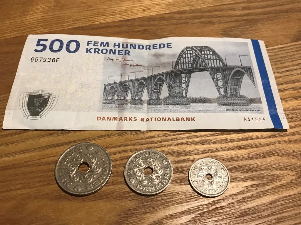 Копенгаген. Деньги