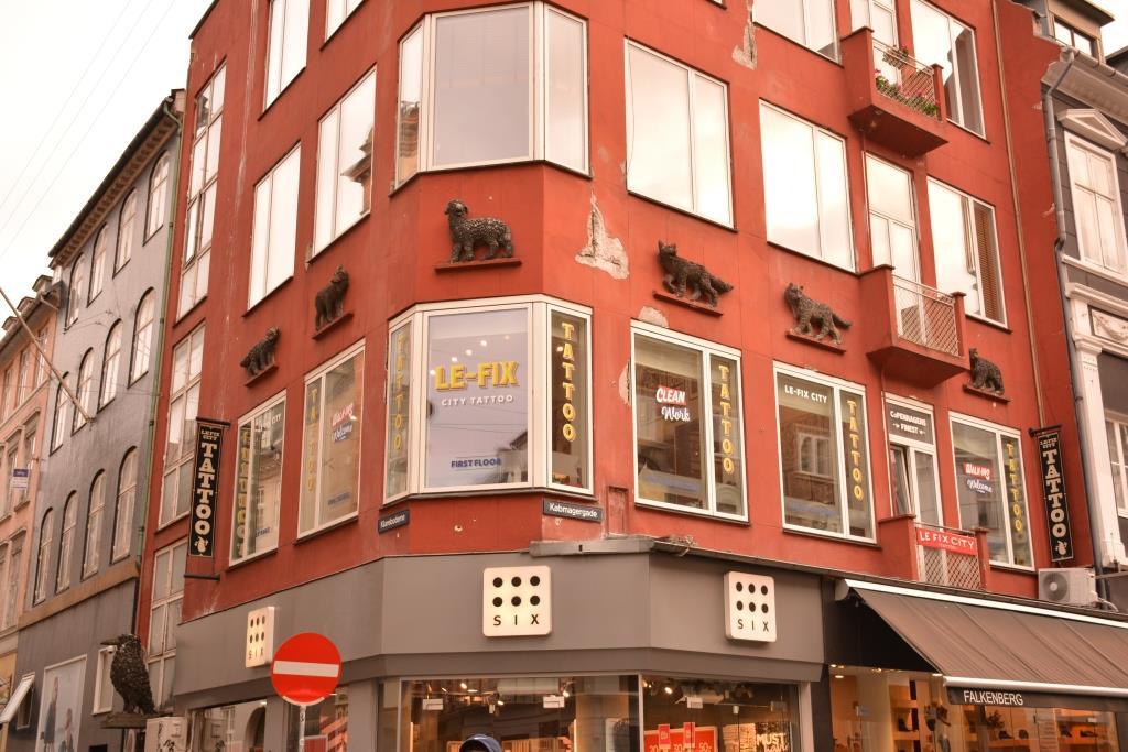 Копенгаген. Улица Строгет