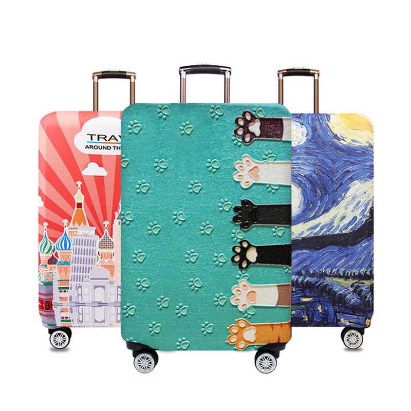 Что подарить путешественнику. Чехол на чемодан