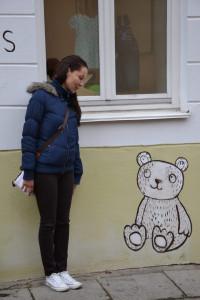 Рисунок на стене Вильнюс